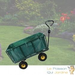 Chariot À Main Pour Le Jardin Ou Autres Transports 550 kg