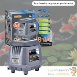 Aérateur Bassin Grande Profondeur 3000 l/h Pompe À Air Pour Bassins De Jardin Et Étangs