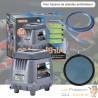 Kit Aérateur Bassin Profond 3000 l/h + Diffuseur 20 cm Pour Bassins De Jardin Et Étangs