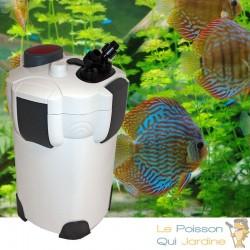 Filtre extérieur 2000 l/h pour aquarium de 400 litres et plus