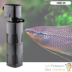 Filtre Aquarium. Intérieur de 1000 l/h pour aquarium de 300 l