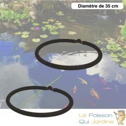 2 Diffuseurs D'Air Poreux 35 cm Pour Bassins De Jardin + Tuyau