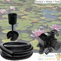 Kit Écumeur Bassin Et Piscine Avec Pompe Et Tuyau