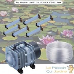 Set aération bassin de jardin N2 de 20000 à 30000 litres