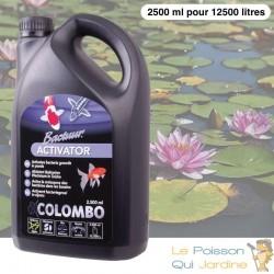 Activateur De Bactéries 2500 ml Pour Bassins De Jardin de 12500 Litres