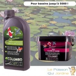 Pack anti eau verte et clarté optimale pour bassins de max. 5000 litres