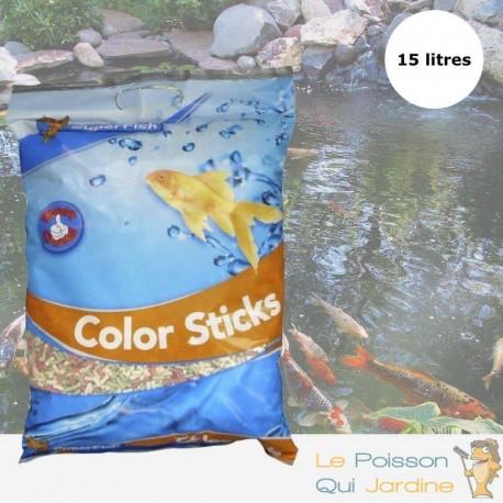 Nourriture Mix En Sticks 15 L Pour Kois : Bassin Et D'Étangs