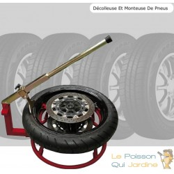 Décolleuse et Monteuse de Pneus moto cross, enduro, piste ou moto de route