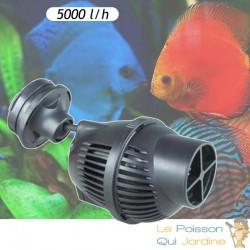 Pompe de brassage 5000 l/h avec aimant pour aquariums marins