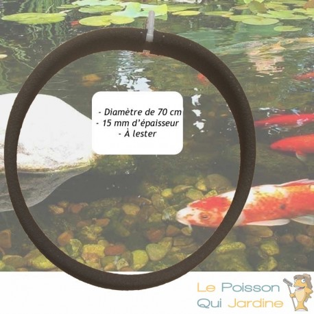 Diffuseur D'Air Poreux PREMIÈRE QUALITÉ 70 cm Pour Bassins De Jardin + Tuyau