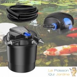 Kit Filtre Pression UV 36W, Pompe, Tuyau Pour Bassins De 40000 L
