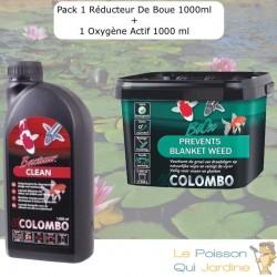 Pack Réducteur De Boue, 2500 ML + 1 Oxygène Actif,1000 ml Pour Bassins De 12500L