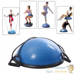 Bosu ou Ballon D'Équilibre Idéal Pour Yoga, Balance & Proprioception
