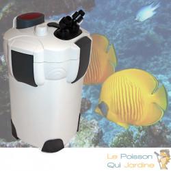 Filtre Externe 1400 l/h pour aquarium : Accessoires fournis. grande qualité et silencieux