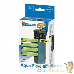 Filtre interne 100 l/h pour aquarium Superfish Aqua Flow 50