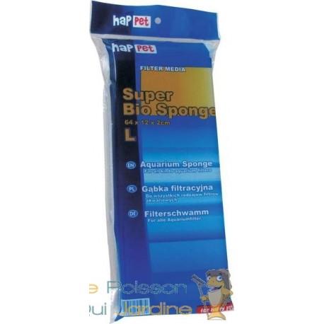 Mousse bleue 64 cm X 12 pour filtre d'aquarium