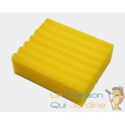 Mousse de remplacement jaune pour filtres 12000 et 25000 litres