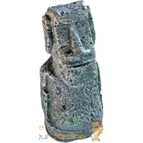 Statue de l'île de Pâques 13 cm décoration pour aquarium