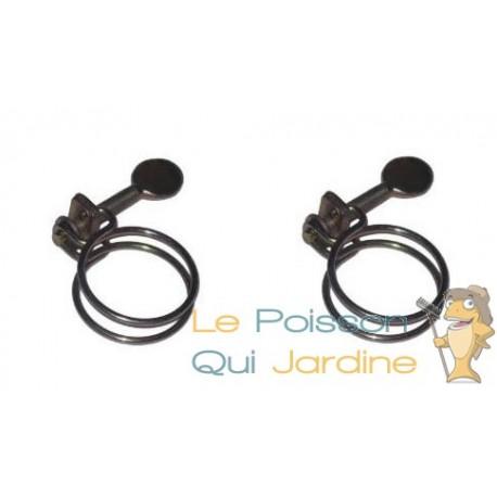 2 Colliers De Serrage Pour Tuyau 50 mm Pour Bassin