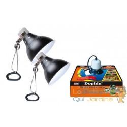 Lampe chauffante 26 cm pour terrariums : 150W