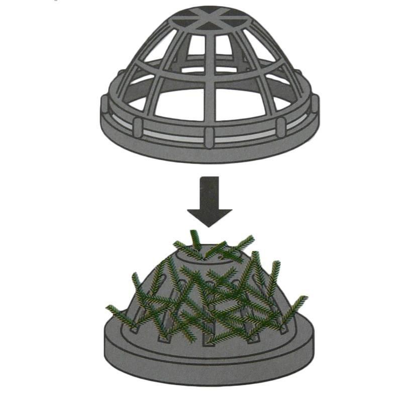 dome support de plante d 39 aquariums d coration le poisson qui jardine. Black Bedroom Furniture Sets. Home Design Ideas